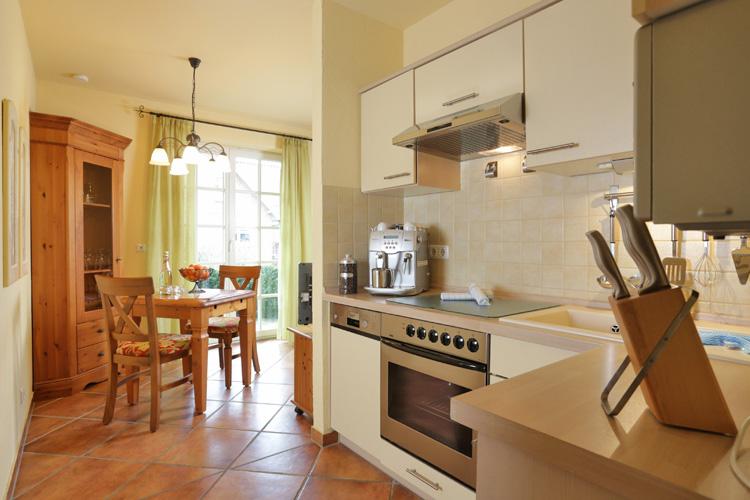Küche im Haus GodeTied im Ostseebad Sellin auf Rügen