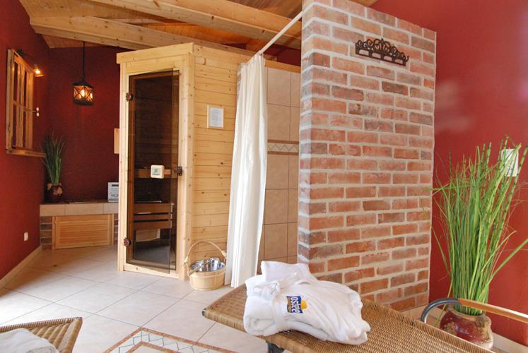 Sauna im Haus GodeTied im Ostseebad Sellin auf Rügen