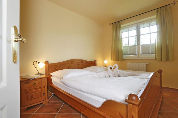 Schlafzimmer im Haus GodeTied im Ostseebad Sellin auf Rügen