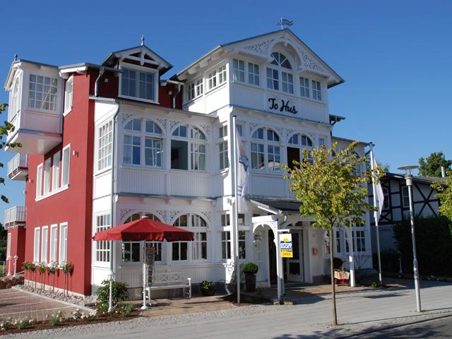 Ferienwohnungen - Villa To Hus - Außenansicht