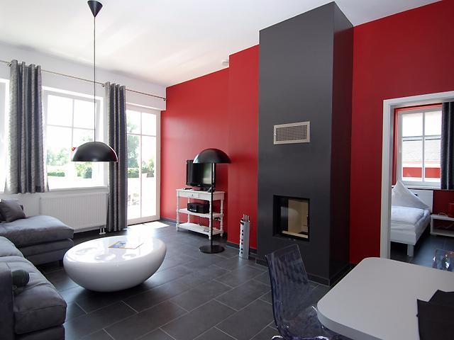 Ferienwohnungen - Villa To Hus - Wohnzimmer
