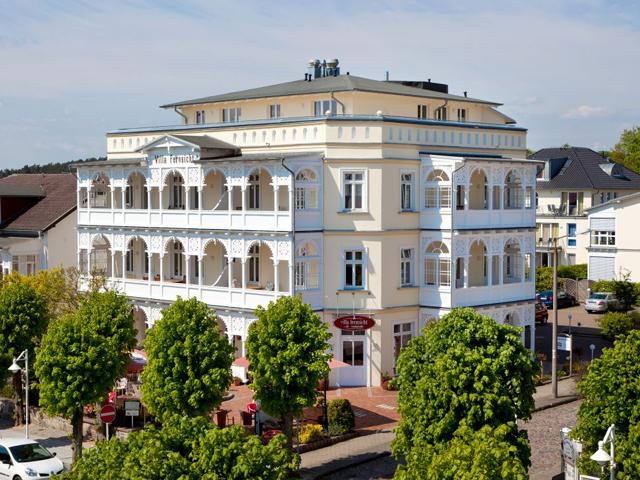 auf Rügen im Ostseebad Sellin - Villa Fernsicht Aussenansicht