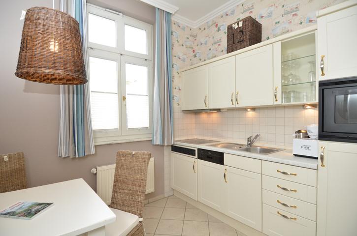 auf Rügen im Ostseebad Sellin - Villa Fernsicht Küche
