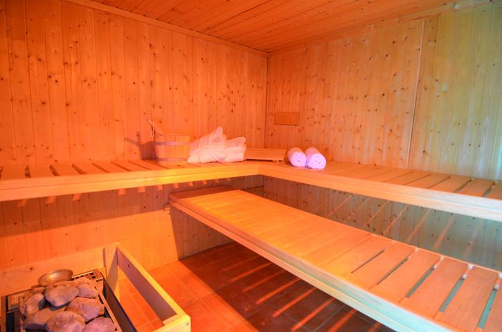 Ferienwohnung Seerose - Sauna