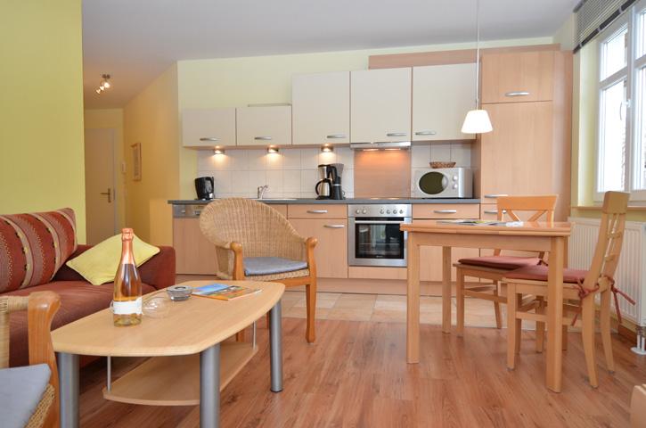 Ferienwohnungen in Sellin auf Rügen - Villa Seerose Küche